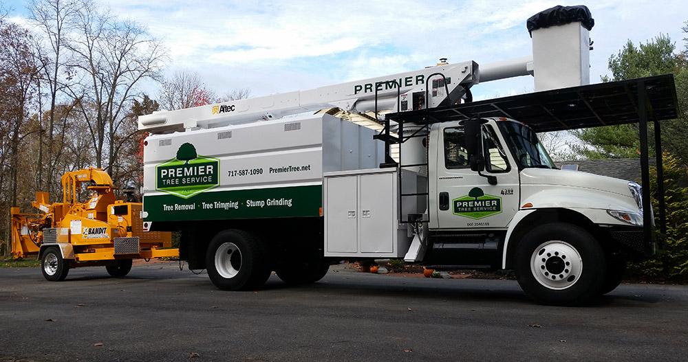 Branding For Premier Tree Service Yoder Design Co