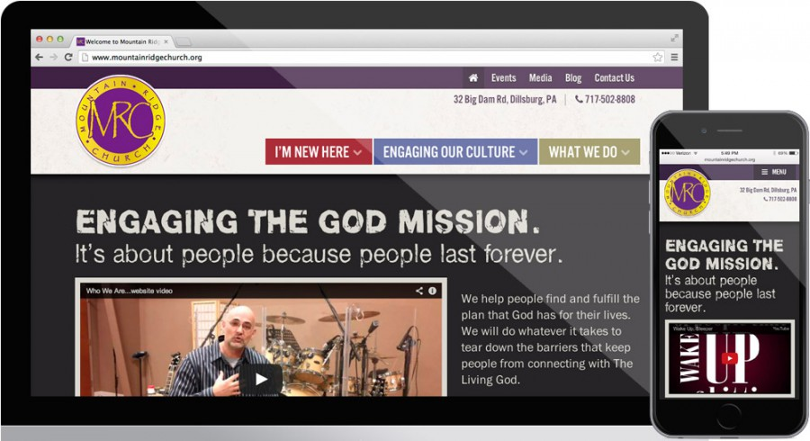 Mountain Ridge Church Website