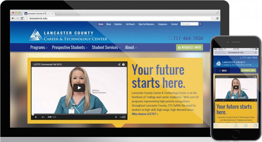 Lancaster CTC Website Design