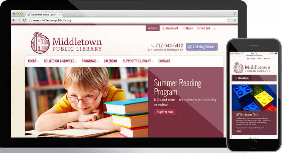 Middletown Public Library Website