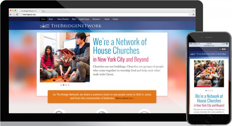 The Bridge NYC Website design
