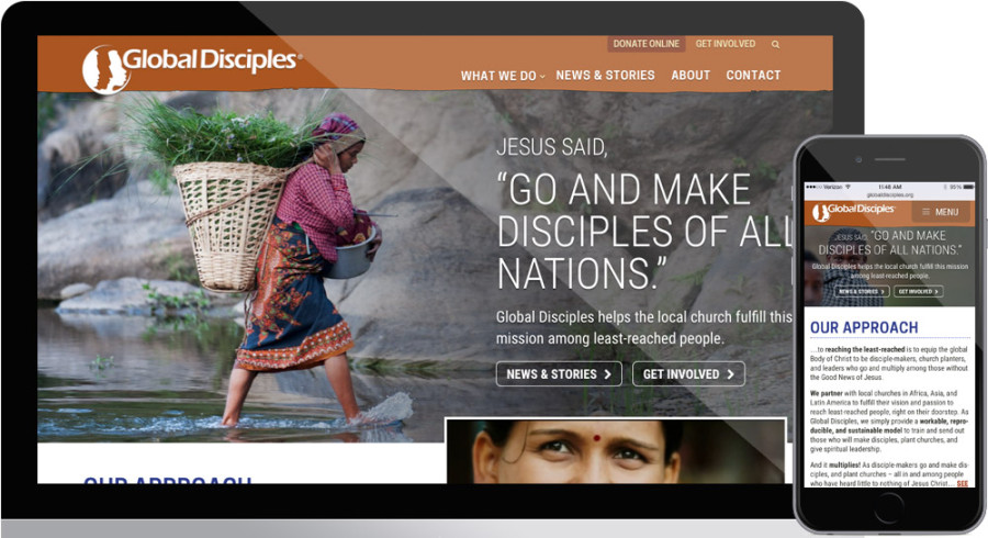 Global Disciples homepage