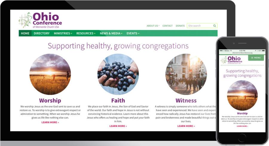 Ohio Mennonite Conference website