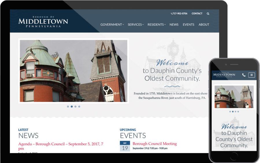 Middletown website
