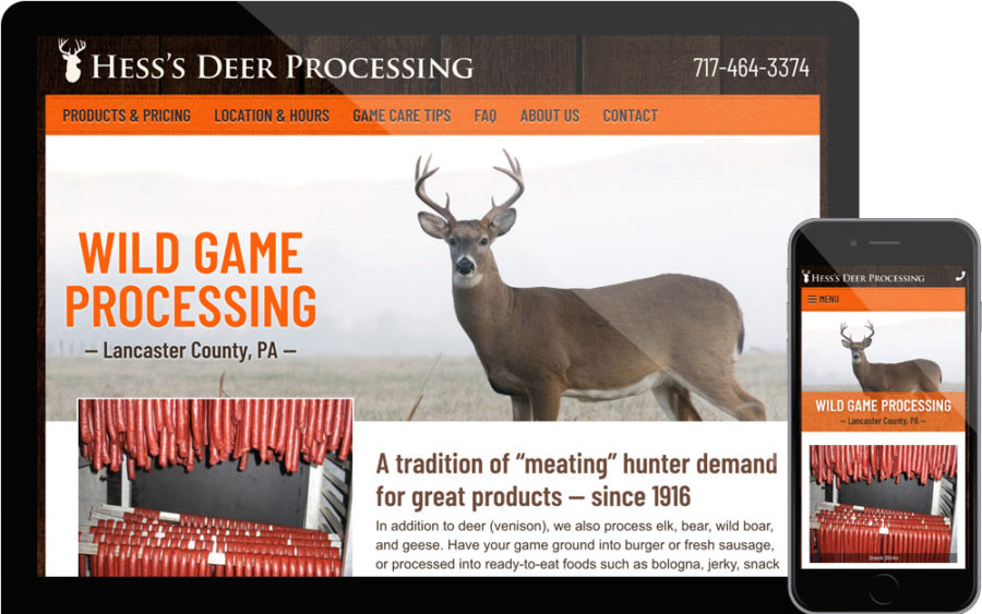Hess's Deer Processing