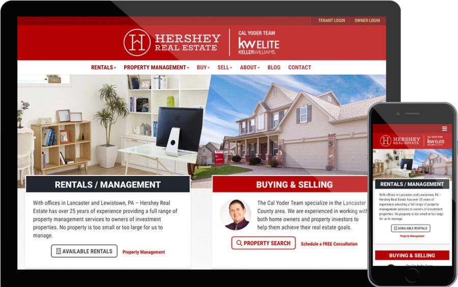 Hershey Real Estate website