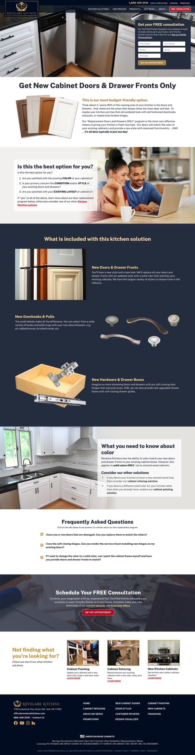 Door replacement page